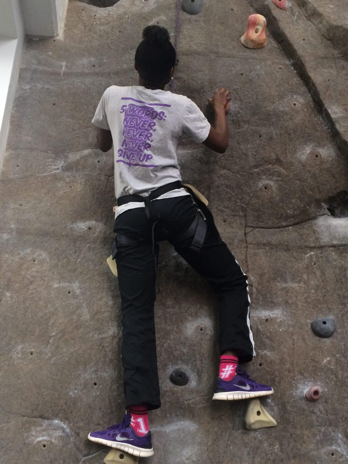 Climbing to Success